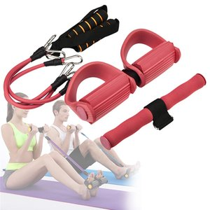 Wholesale Resistance Exercise Tension Bands Fitness Equipment Fit for Situps Stretching and Chest Pedal Expander Set of Pull rope p09