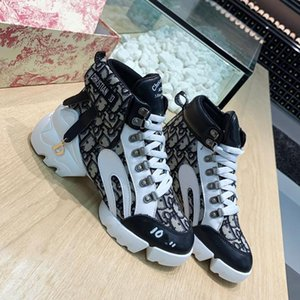 High-top ladies Luxury Fashion basketball Sneakers leather Net surface women Casual shoes Trainers shoes running outdoor shoes With box on Sale