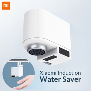 Wholesale Xiaomi Zajia Induction Water Saver Intelligent Infrared Induction Water Faucet Anti overflow Swivel Head Saving Nozzle Tap