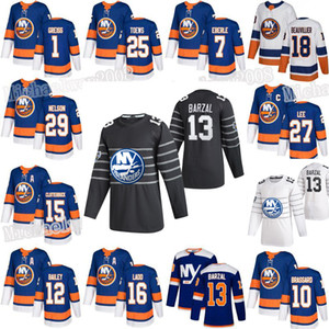 New York Islanders 2020 All Star Game Mathew Barzal Derick Brassard Brock Nelson Bailey Beauvillier Lehner Eberle Anders Lee Pulock Jersey