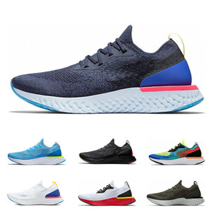 Wholesale 2019 New React Running Shoes For Men Women Hot selling Black white Run Sport designer Sneakers Trainer sports shoes eur36