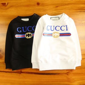 2019 Spring And Autumn Printing All-match sweatshirt Long Sleeve Pure Cotton Motion Leisure Time Quality Children on Sale