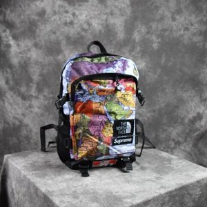 Wholesale New fashion Bags Men Women Backpacks Outdoor Sport Backpack School Bag For snow mountain map backpack Bag
