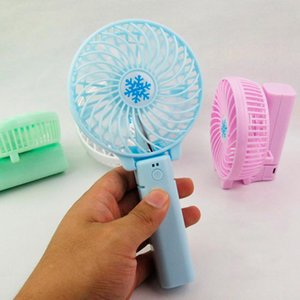 Wholesale USB Battery Rechargeable Fan Ventilation Foldable Air Conditioning Fan Foldable Cooler Hand Held Cooling