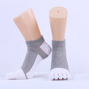 Wholesale Cotton five finger socks men s cotton toe socks deodorant sweat absorbent sports men s boat socks factory direct sales