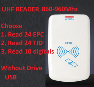 New Rfid Desktop Card Reader Simulation Keyboard USB UHF Smart Scanner Without Drive Read EPC TID HEX number ISO180006C 6B 860-960mhz DHL
