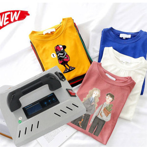 Wholesale Best shirt heat press machine CH1914 inch Hobby t shirts Home heat transfer press for HTVs and iron on DHL free