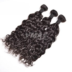 Brazilian Virgin Human Hair Weave Natural Water Wave 100g Per Bundle Brazillian Virgin Hair Weave Wet Wavy Brazilian Hair Extension