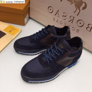 liujingang7 Hot sale Blue mesh casual sneakers 0084 Men Dress Shoes BOOTS LOAFERS DRIVERS BUCKLES SNEAKERS SANDALS