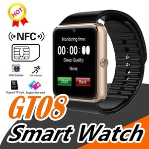 Smart Watch GT08 for Andriod Mobile Phone Bluetooth Watch with SIM Card Watch for IOS Wearable Device Phone Free Shipping