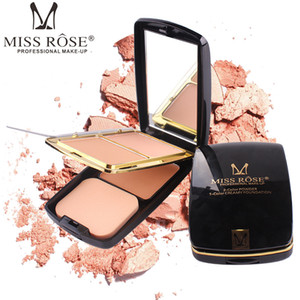 Wholesale MISS ROSE color powder cake color cream foundation Fashion belt air cushion repair powder makeup