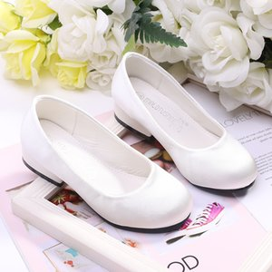 Girls' Satin Heels Toddler(9m-4ys)   Little Kids(4-7ys)   Big Kids(7years +) Flower Girl Shoes   Tiny Heels 712-1 on Sale