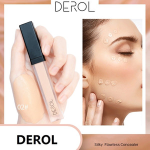 Wholesale scarring cream for sale - Group buy DEROL Liquid Concealer Foundation Cream Smooth Makeup Face Eyes Moisturizing Cosmetic Long Lasting Scars Acne Cover