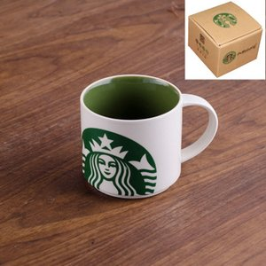 Wholesale HOT SELL ML colorful porcelain ceramic coffee mugs breakfast cup Random Color