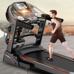 Wholesale F3 blue screen new home electric treadmill single   multi-function mute folding sports fitness equipment
