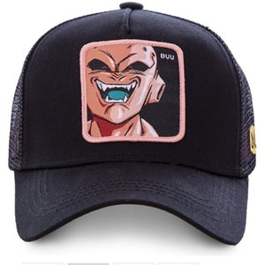 High Quality Ball Z Majin Buu Snapback Cap Cotton Baseball Cap For Men Women Hip Hop Dad Hat golf caps Bone Garros