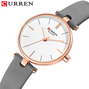 Wholesale Beautiful Fashion Women Leather Watch Top Brand Ladies Dress Watch Casual Round Analog Quartz Clock For Women
