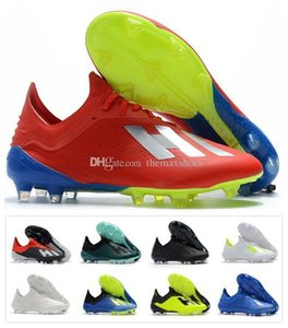 Hot X 18.1 FG 18 Soccer Mens Football Shoes 18 Top Quality SKELETALWEAVE Boots Cleats Size US6.5-11 Spectral Mode Size 39-45 on Sale
