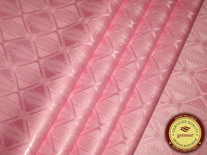 High Quality Guinea Brocade Bazin Riche Fabric 10Yards Bag Pink Color Nice design african Garment Fabric Shadda Damask Similar to Getzner