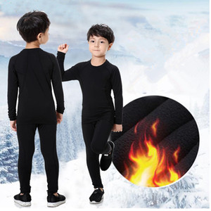 Spring Thermal Underwear Set Children Warm Thermo Underwear Long Johns Boys Girls Johns Fitness Quick Dry