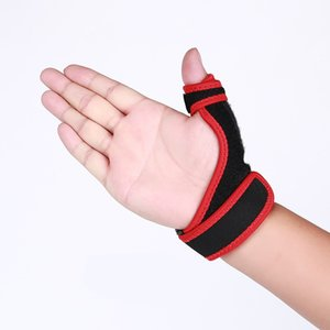 Wholesale 1PC Sports Wrist Band Gym Fitness Wrist Thumb Support Straps Thumb Stabilizer Badminton Weightlifting Support Wrap