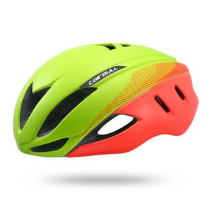 Wholesale Cairbull Speed Aero Bike Helmet Aerodynamics Safety TT Cycling Helmets For Bicycle Men Women Sports Racing Road Bike Helmet g