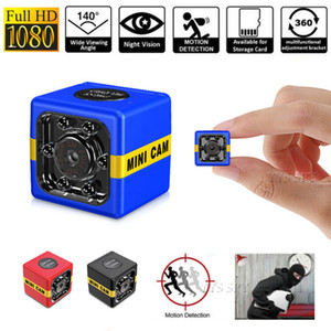Wholesale hidden motion detection camera recorder resale online - New FX01 CAM P HD Mini Camera Auto IR Night Vision Motion Detection Micro Cam DVR Video Recorder Camara Espia Support Hidden TF Card
