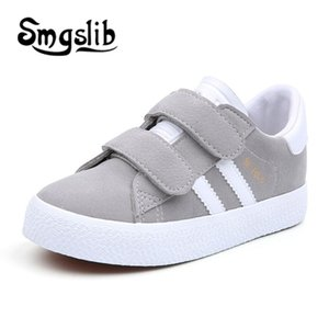 Kids Children Breathe Boys Sport Trainers Casual Baby School Flat Leather 2018 Girls Sneaker Toddler Shoes MX190726 MX190727 on Sale