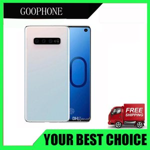 Wholesale Goophone S10 Plus G LTE Face ID Fingerprint quot Octa Core MP Camera Dual Nano Sim Card Unlocked Phones