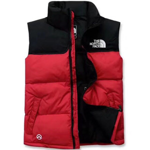 2018 New north Winter men's Down puffer jacket Casual Brand Hoodies Down Parkas Warm Ski Mens face vest
