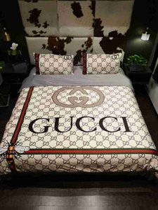 Wholesale designer luxury Bedding sets king or Queen size bedding sets bed sheets comforter luxury bed comforters sets