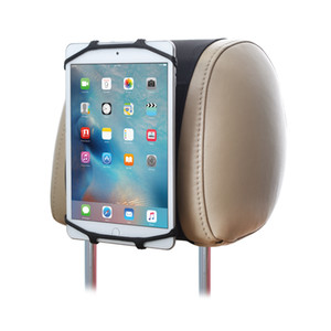 Wholesale TFY Universal Car Headrest Mount Silicon Holder Travel Accessory for Inch iPhones and Tablets
