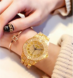 Wholesale Women Watches Women Fashion Watch Geneva Designer Ladies Watch Diamond Quartz Gold Wrist Gifts For