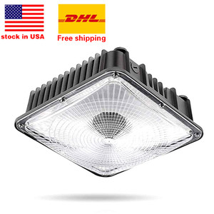 LED Canopy Light Commerical Grade Weatherproof Outdoor Balcony Carport Driveway Ceiling Light led gas station light