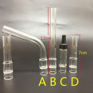 Replacement Solo Glass Aroma Tube Mouthpiece Electronic cigarette accessories for air solo Glass hookah pipe