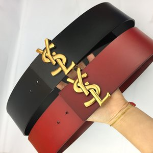 Luxury Casual Leather Belts Men Women Gold Silver Smooth Buckle Leather Waistbands Unisex Fashion Trousers Jeans Waist Belt Birthday Gift