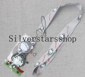 Wholesale anime My Neighbor Totoro Lanyard Strap Cell Phone Key Chain ID Card Lanyard