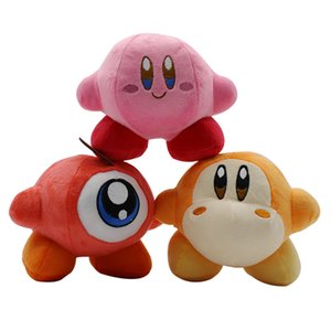 14cm Waddle Dee Game Star Kirby Soft Stuffed Animal Doll Fluffy Pink plush Doll for children's Gift Toys