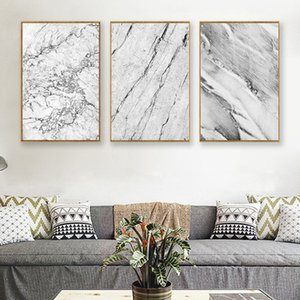 Wholesale painting textures for sale - Group buy Modern Abstract Marble Texture Art Decorative Painting Canvas Painting Art Abstract Print Poster Picture Wall Home Decor