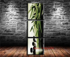 Wholesale Bamboo Stone P Canvas Painting Living Room Home Decor Modern Mural Art Oil Painting