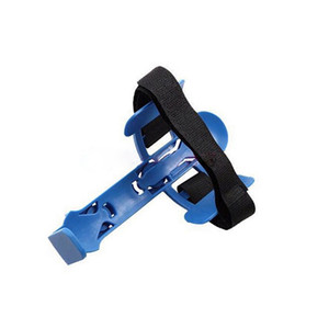 Wholesale Adjustable Plastic Mountain Bicycle Bike Water Bottle Holder Drink Cup Holder with Strap Belt Buckle U0062