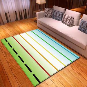 Wholesale Modern Carpet D Colour Piano Keyboard Note Area Rugs Memory Foam Carpet Kids Play Crawl Mats Home Carpets for Living Room Decor