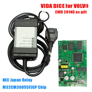 New Full Chip for Volvo Vida Dice Pro 2014D Diagnostic Scan Green PCB Board Update Professional Diagnosis Firmware Update Software