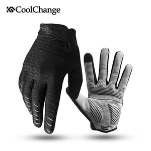 Cycling Gloves Full Finger Bicycle Gloves Touch Screen Windproof Sports Man Woman Gloves Bike Sponge Shockproof Glove