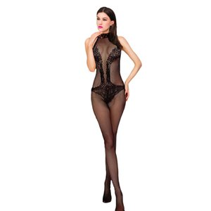 Wholesale Sexy Lingerie Erotic Babydoll Porno Sex Transparent Black Condole Belt Erotik Bodysuit Hot Nightdress Sexy Costumes For Women D3