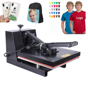 Wholesale RB YW460 High Pressure x60CM T shirt Printing Machine Sublimation Printer Heat Transfer Bag Case Puzzle Glass Wood Rock Photo