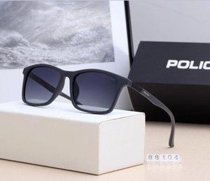 Wholesale 2019 Fashion women sunglasses couple polarized glasses designer high quality toad shape Shades glasses Fashion Accessories with box