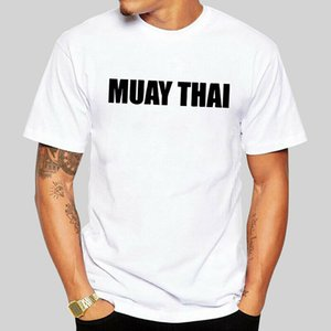 Wholesale Different Muay Thai Graphic White T Shirt Short Sleeve Male Cotton Tee Shirt