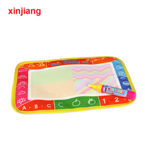 Wholesale Mini Water Drawing Mat Magic Pen Water Coloring Board Painting Rug Doodle Writing Book Toys Educational Toy For Kids