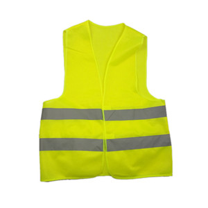 Yellow Vest Gilets jaunes Reflective Safety Workwear for Night Running Cycling Man Night Warning Working Clothes Fluorescent